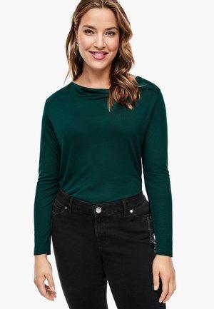 MIT LAYER-DETAIL - Blouse - emerald