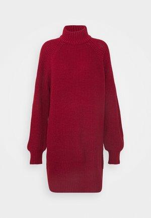 NMTIMMY DRESS - Jumper dress - rhubarb