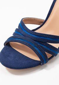 Anna Field - Sandalias de tacón - dark blue - 2
