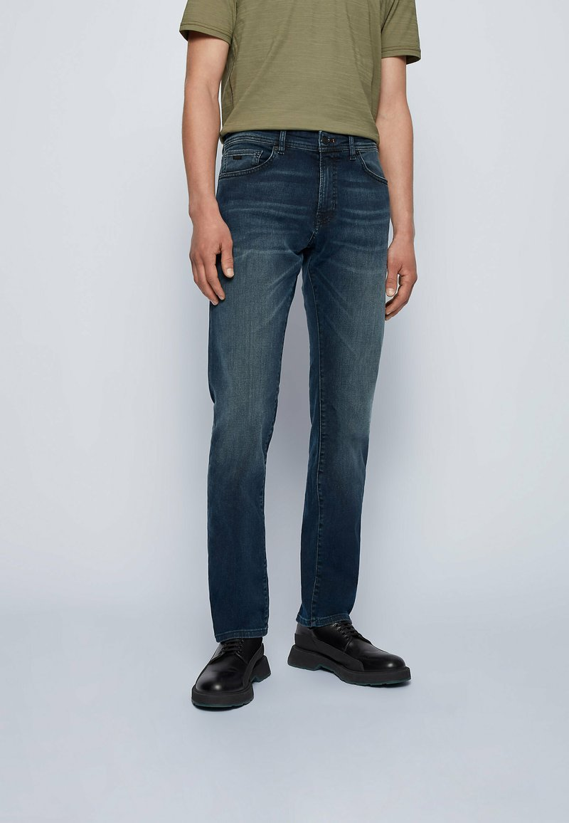 BOSS - MAINE - Slim fit jeans - dark blue