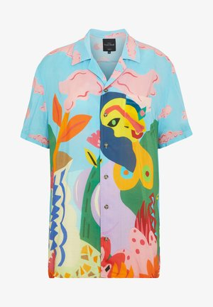 CAM MAKAR DESIGNED BY MIRANDA MAKAROFF - Button-down blouse - azul palo