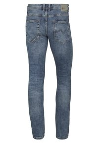 TOM TAILOR DENIM - Slim fit jeans - super stone blue - 1