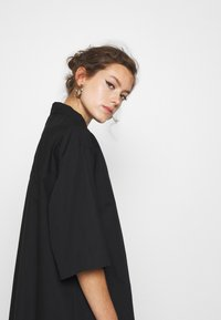 Monki - ELIN DRESS - Shirt dress - black dark - 4