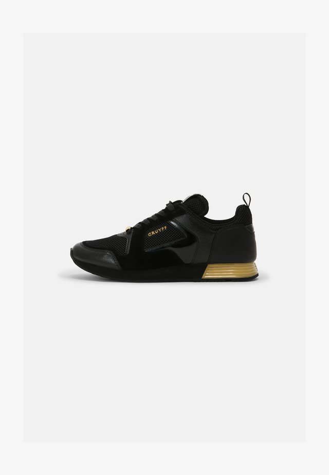 LUSSO - Sneakers laag - black/gold