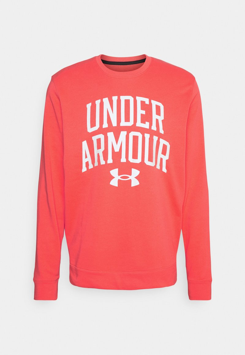 Under Armour - RIVAL CREW - Sweatshirt - red