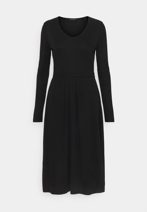 DRESS LONG SLEEVES - Vestido ligero - black