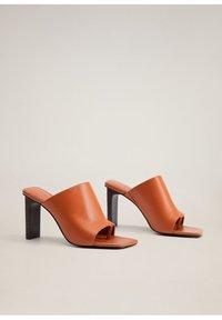 Mango - TON - High heeled sandals - orange - 3