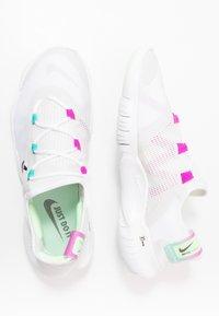 Nike Performance - FREE RN 5.0 2020 - Minimalist running shoes - white/black/summit white - 1