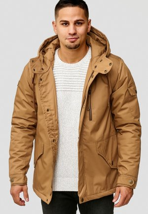 ELMHURTS - Light jacket - tobacco