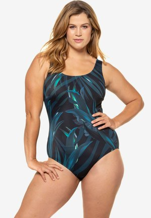 Swimsuit - dark green