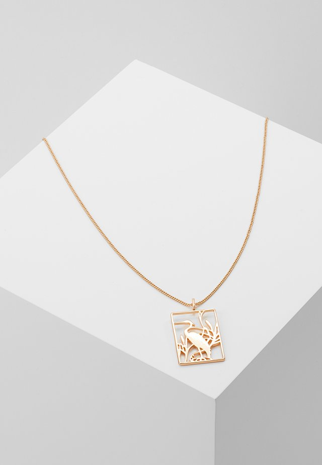 NECKLACE ASAMI - Necklace - rose gold-coloured