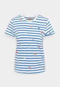 Polo Ralph Lauren - T-shirt con stampa - blue/white - 5