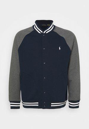 LONG SLEEVE - Zip-up sweatshirt - cruise navy/medium heather