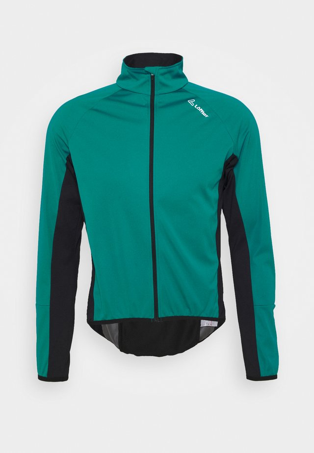 BIKE JACKE ALPHA LIGHT - Trainingsvest - lagoon