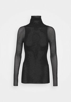 VELES - T-shirt à manches longues - black