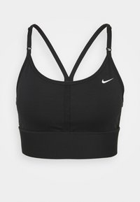 Nike Performance - INDY BRA - Sujetadores deportivos con sujeción ligera - black/white - 4