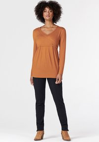 Esprit Maternity - Long sleeved top - rust - 0