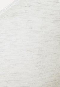 Calvin Klein Underwear - MODERN LIFT BRALETTE - Alustoppi - snow heather/purple fuss - 5