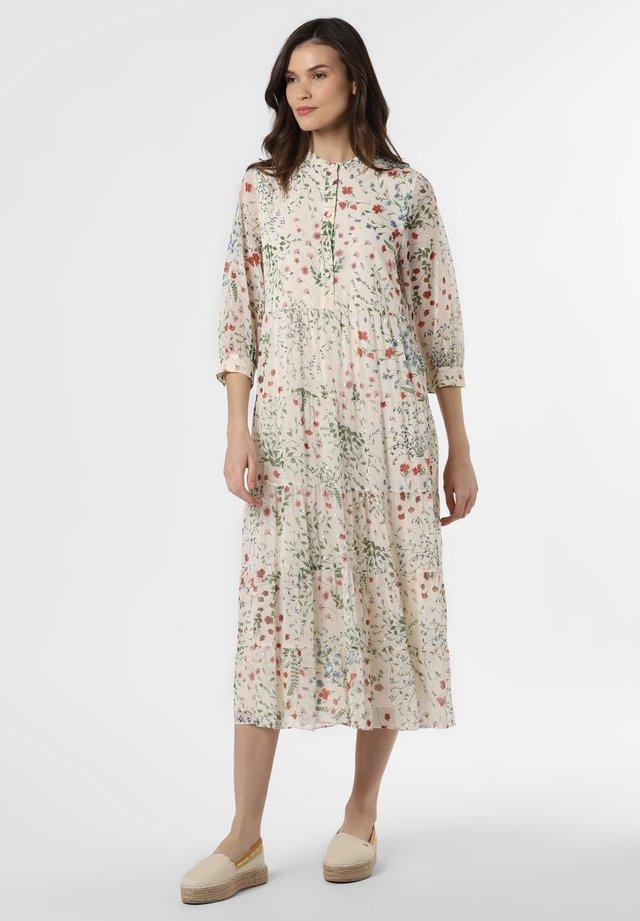 Shirt dress - vanille mehrfarbig