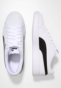 Puma - SMASH  UNISEX - Sneakers - puma white/puma black - 1