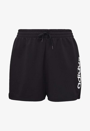 ESSENTIALS INCLUSIVE SIZING SHORTS - Sports shorts - black