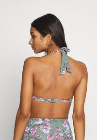 Esprit - BILGOLA  - Bikini top - light khaki - 2