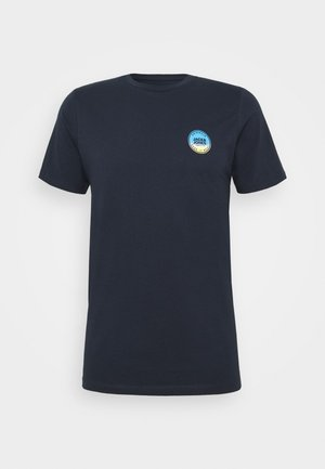 JORPHOTO FASTER TEE CREW NECK - T-shirt print - navy blazer