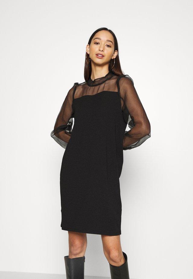 VMJANA SHORT DRESS  - Robe d'été - black