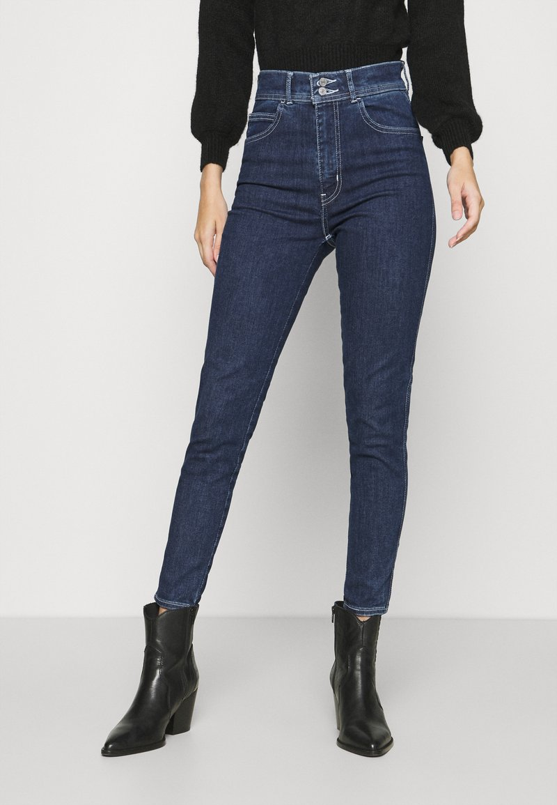 Levi's® - MILE HIGH ANKLE DBL SHNK - Jeans Skinny Fit - bye felicia