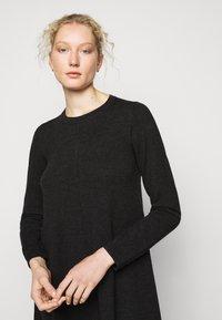 Repeat - DRESS - Jumper dress - dark grey - 3
