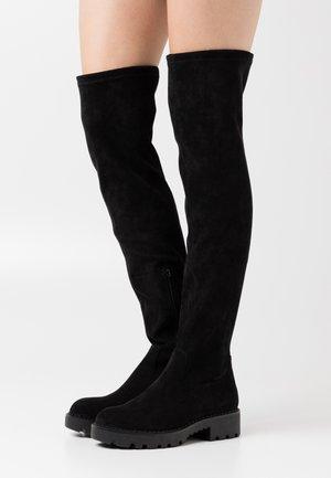 MYRNA - Høye støvler - black