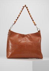 HVISK - AMBLE CROCO - Handbag - chocolate - 2