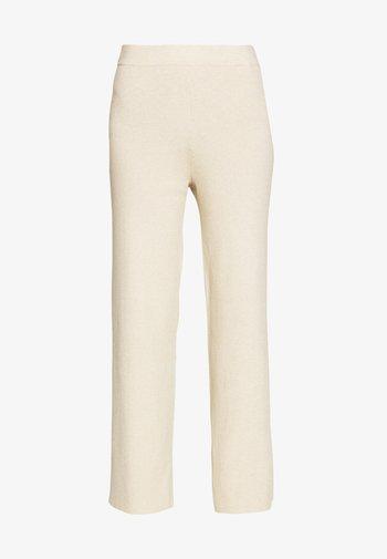 VERDI - Kalhoty - beige melange