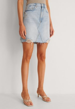 Spódnica mini - light blue