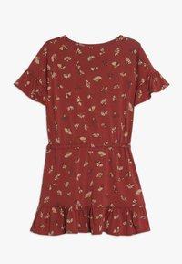 Soft Gallery - DANICA DRESS - Jersey dress - burnt brick - 1