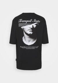 Zign - UNISEX - Print T-shirt - black - 7