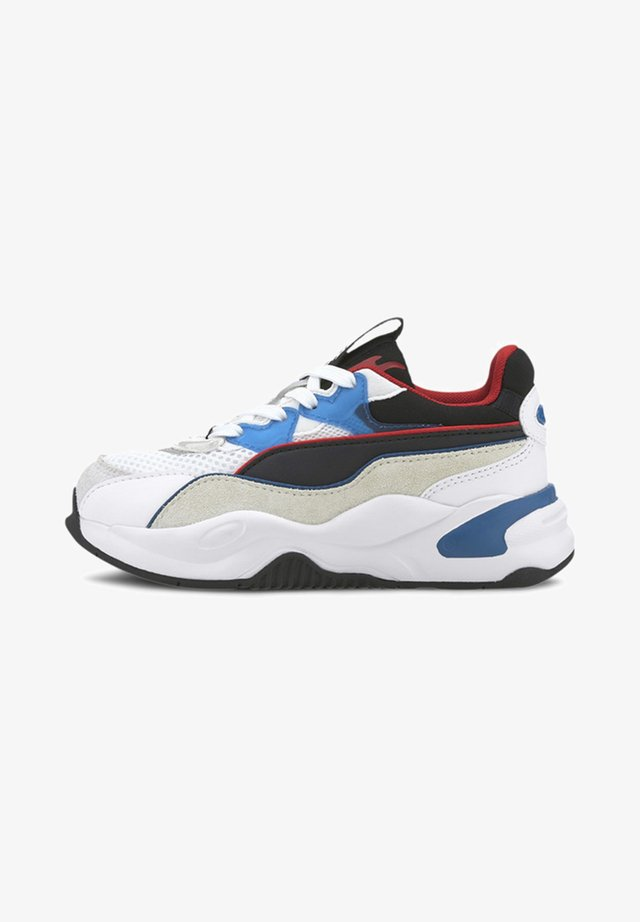 INTERNET EXPLORING - Trainers - white lapis blue