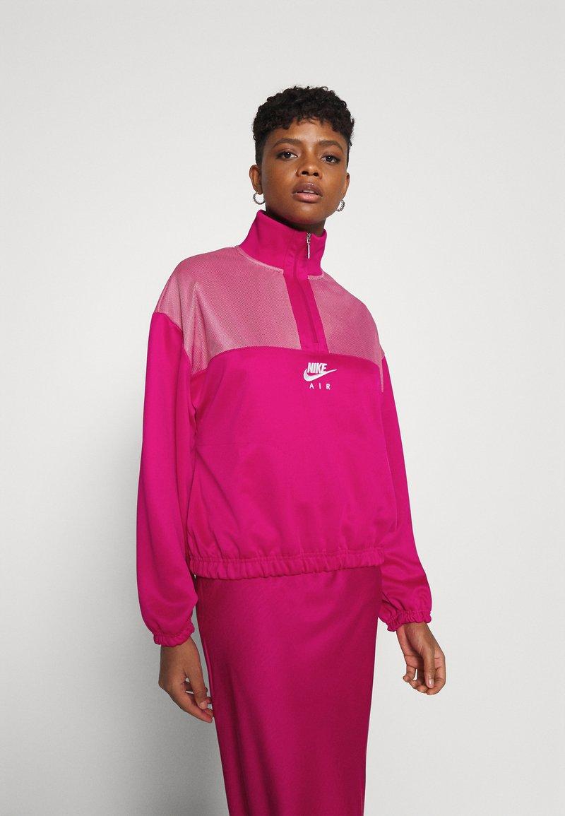Nike Sportswear - AIR - Sudadera - fireberry/white