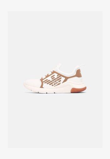 UNISEX - Sneakersy niskie - white/gold