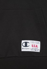 Champion - BASKET GAME HOODED UNISEX - Sudadera - black - 2