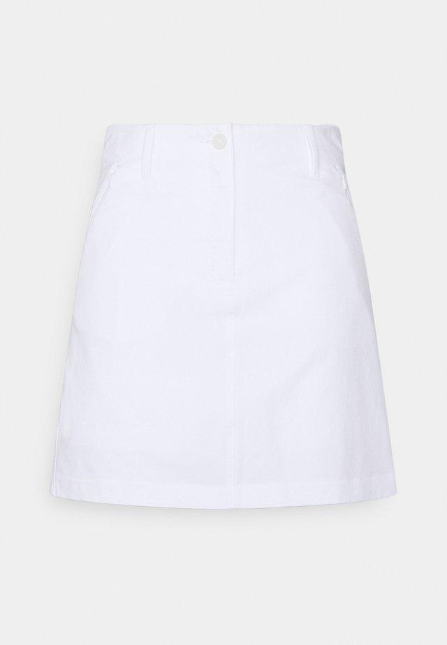 ALLEN SKORT - Sports skirt - white