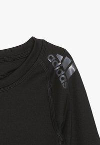 adidas Performance - Sports shirt - black - 3