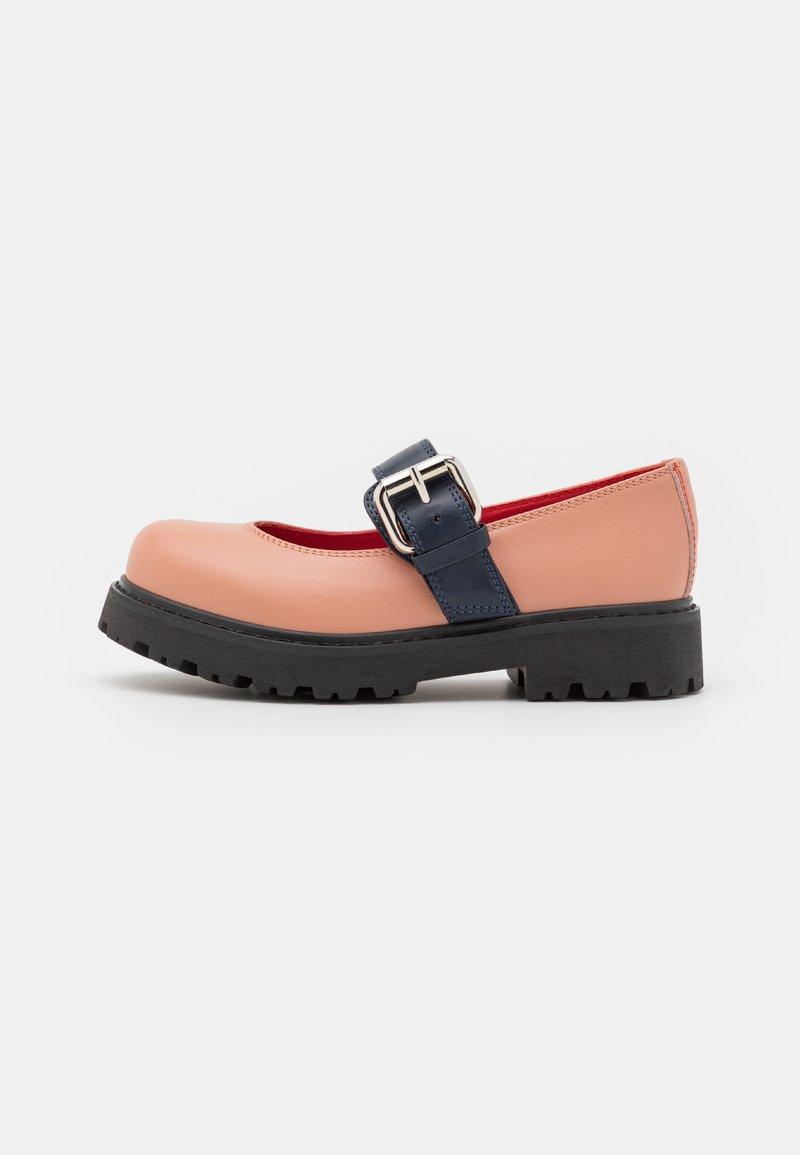 Marni - Ankle strap ballet pumps - light pink