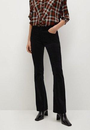 VELVET - Pantalon classique - noir