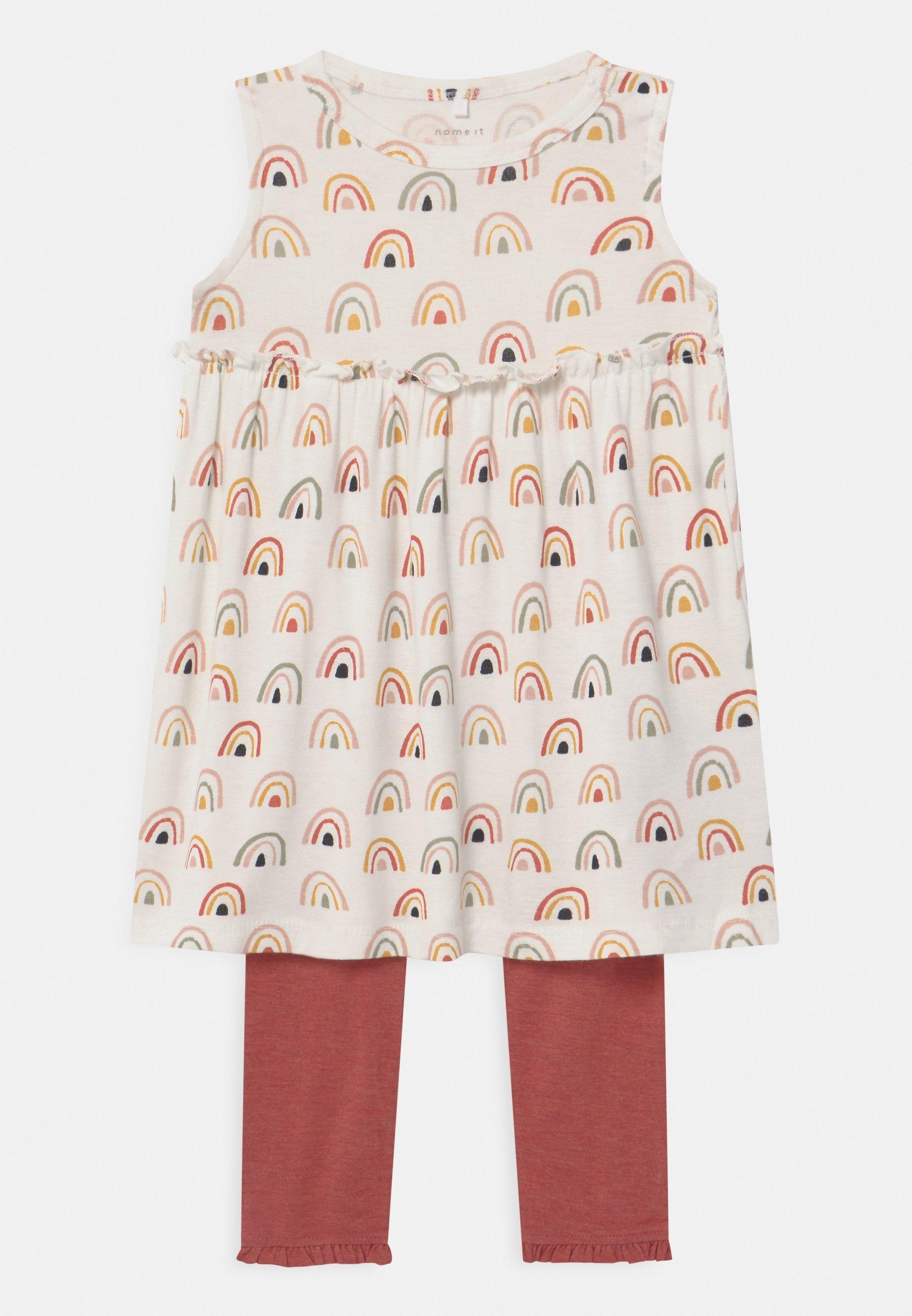Kids NBFDAOMI SPENCER SET - Leggings - Trousers