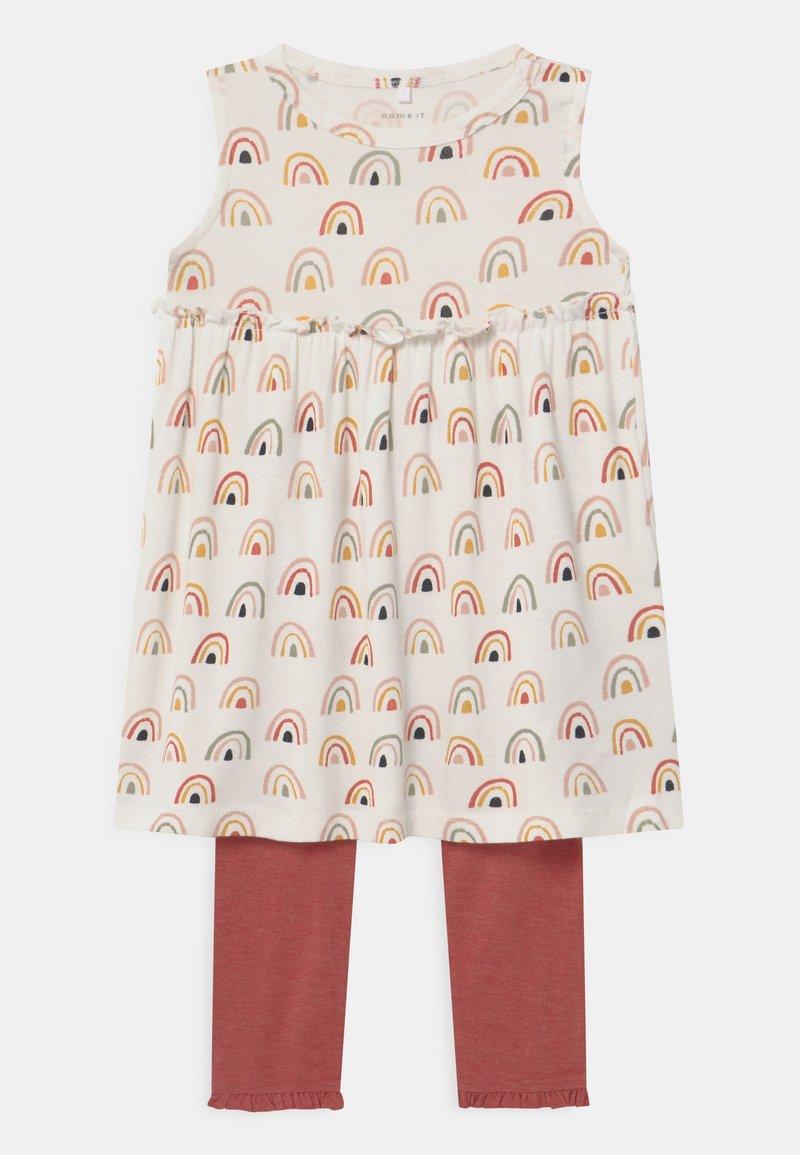 Name it - NBFDAOMI SPENCER SET - Leggings - snow white