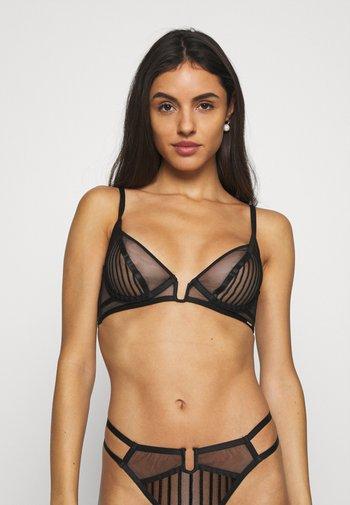 CATORI BRA - Kaarituelliset rintaliivit - black