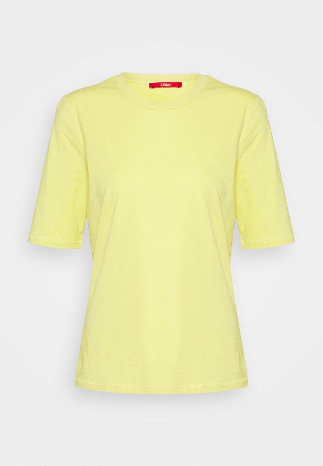KURZARM - T-shirts basic - lime yellow