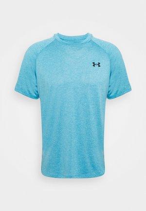TECH 2.0 TEE - T-shirts - radar blue/black