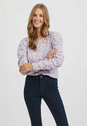OBERTEIL PUFFÄRMEL - Long sleeved top - lavender
